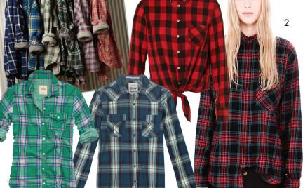 Kupujemy: koszulę w kratę