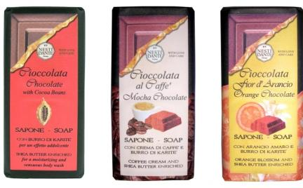 Chocolate Soap Nesti Dante