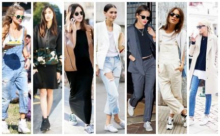 Sneakersy slipony trampki: tak it-girls noszą sportowe buty (GALERIA)