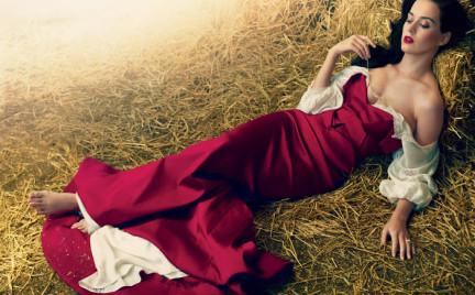 Katy Perry dziewczyną z okładki amerykańskiego Vogue a