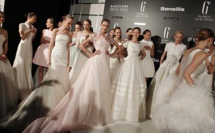 New York Bridal Week: ślubne trendy na 2014