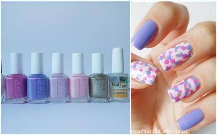 Manicure krok po kroku: pastelowe kropki