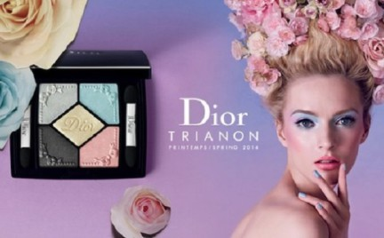 Trendy w makijażu: Trianon Palette czyli wiosenna kolekcja Diora