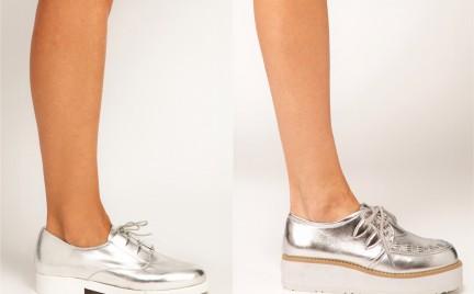 To jest trendy: metaliczne buty
