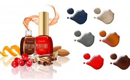 Kosmetyk tygodnia: Eveline Perfume Nail czyli lakiery pachnące cynamonem i astrami