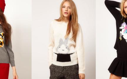 Hit jesieni: sweter ze zwierzakiem
