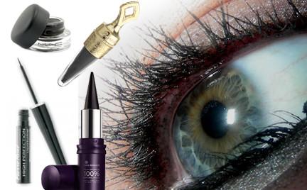 Na każdą kieszeń: eyelinery w różnych postaciach