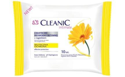 Chusteczki do higieny intymnej Cleanic Intimate