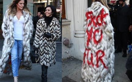 Eko-snobka: Khloe Kardashian uderza w miłośników futer