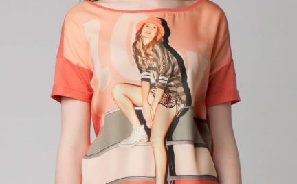 T-shirty z nadrukami Bershka