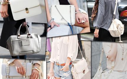 Kupujemy: białą torebkę. Ponad 50 propozycji