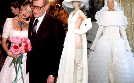 Spektakularne suknie ślubne haute couture część 1.