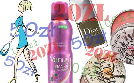 Kosmetyczna Agentka: fajne kosmetyki do 20 50 i 100 zł