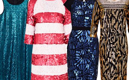 Kupujemy: cekinową sukienkę