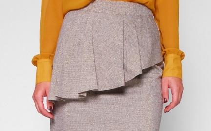 Jak Wam się podoba: spódnica z baskinką Minimum