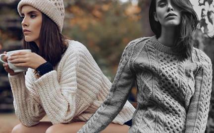Polska marka: Roboty Ręczne czyli ciepłe swetry w seksownej wersji