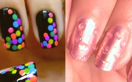 Wideomakijaże: letnie paznokcie