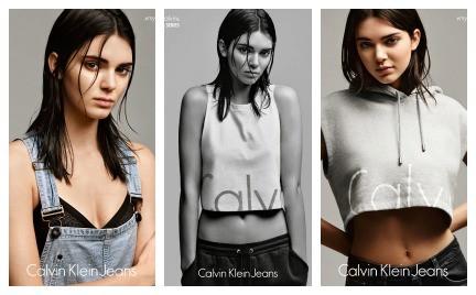 Kendal Jenner twarzą linii Calvin Klein Jeans