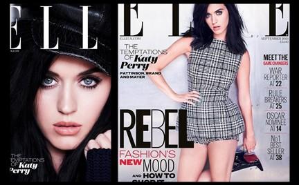 Katy Perry gwiazdą z okładki wrześniowego wydania brytyjskiego ELLE