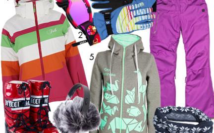 Kupujemy: garderobę na stok