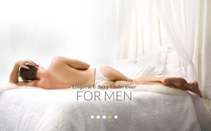 Koronki i falbanki dla mężczyzn. Seksowna bielizna następcą megginsów