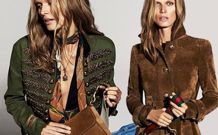Małgosia Bela w najnowszej kampanii Gucci. Zobacz zdjęcia