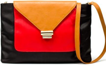 Jak Ci się podoba: geometryczna torebka Zara