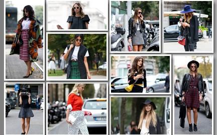 10 najlepszych stylizacji street style z mediolańskiego tygodnia mody