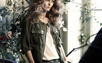 Vanessa Paradis w kampanii H M Conscious