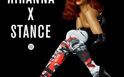 Rihanna projektantką skarpet. Jest się czym chwalić
