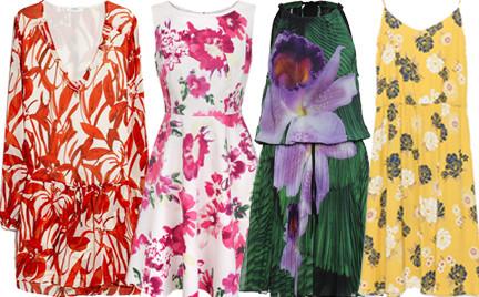 Kupujemy: sukienkę w kwiaty