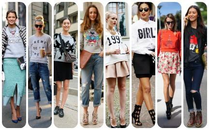 Trudny trend: bluza z nadrukiem