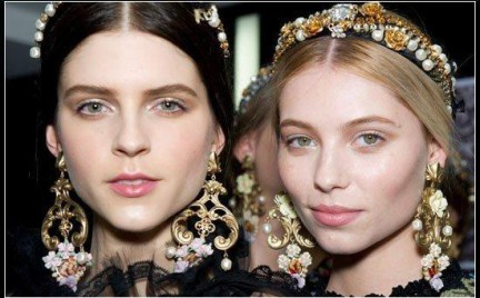 W stylu Dolce Gabbana: opaski River Island