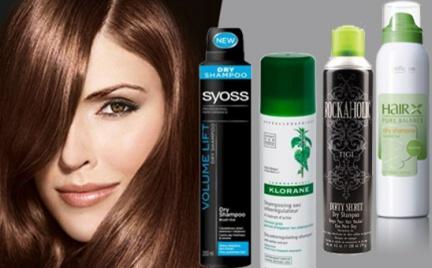 Tajemnice kosmetyków: suchy szampon