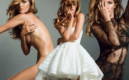 Boska Gisele w paryskim Vogue