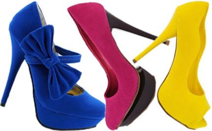 Nowe pantofle na karnawał