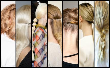 Świąteczne fryzury. Inspiracje z wybiegów
