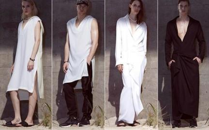 Jedna sukienka dla kobiety i mężczyzny... przyjmie się
