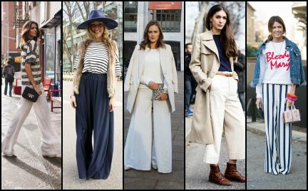 Trudny trend: szerokie spodnie