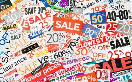 10 najlepszych wyprzedaży w sklepach internetowych
