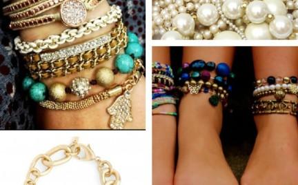 DIY: bransoletki z perłą