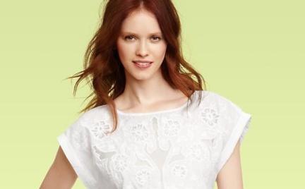 Biało i romantycznie w Gapie