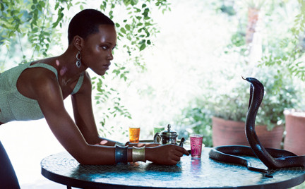 Lupita Nyong o na okładce amerykańskiego Vogue a