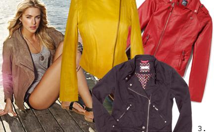 Kupujemy: skórzaną kurtkę