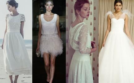 Najpiękniejsze suknie ślubne na sezon jesień 2014