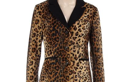 Dla odważnych: cętkowany płaszcz Dorothy Perkins