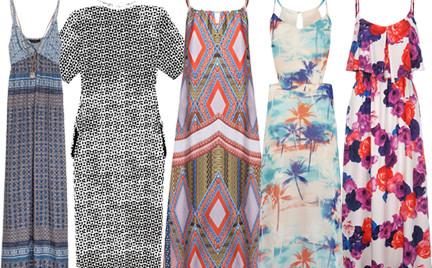 Kupujemy: długą sukienkę