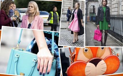 Londyński Tydzień Mody wiosna lato 2014 moda uliczna