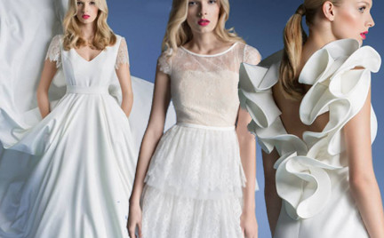Kolekcja ślubna Rina Cossack 2015