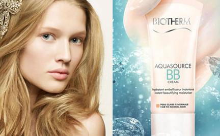 W poszukiwaniu podkładu idealnego: Biotherm Aquasource BB Cream